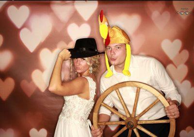 Svatební fotokoutek - ukázka ze svatby 3