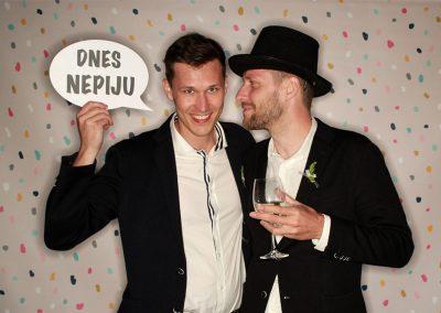 Svatební fotokoutek - ukázka ze svatby 7